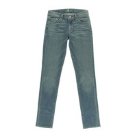 7 For All Mankind Womens Roxanne Low-Rise Classic Skinny Jeans