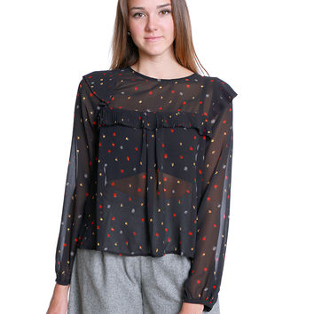 Beautiful Mind Chiffon Blouse