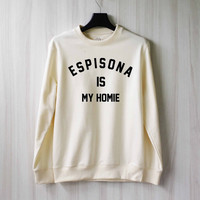 Matthew Espinosa is My Homie Sweatshirt Sweater Shirt – Size XS S M L XL