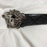"Versace Crocodile Belt - With Dustbag and Box - 36"" 90cm - Worn Once"