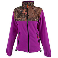 Women's Trail Crest Neon Purple C-Max Fleece Jacket | Scheels