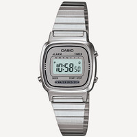 Casio Vintage Collection La670 Watch Silver One Size For Men 24816514001