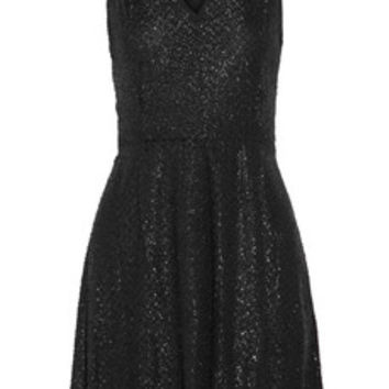 MICHAEL Michael Kors Jacquard mini dress – 60% at THE OUTNET.COM