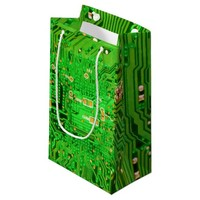 Circuit Board Design Small Gift Bag