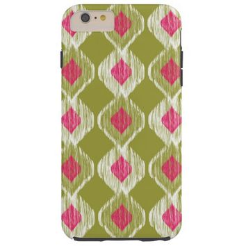 Colorful Ethnic Abstract Aztec Ikat Tribal Pattern Tough iPhone 6 Plus Case