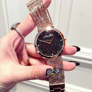 Luxury  Fashion Crystal Women  Watch