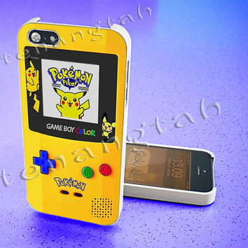 Gameboy Color Pokemon edition For iphone 4/4s case, iphone 5/5s,iphone 5c, samsung s3 i9300 case, samsung s4 i9500 case in TenangTah