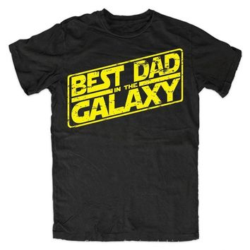 Best Dad In The Galaxy T-Shirts - Men's Tee