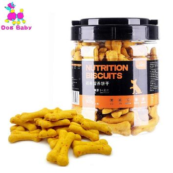 DOGBABY New Dog Food Feeders Oats And Carrot Flavor Pet Snacks Healthy Nutrition Dogs Cookies Clean Teeth Food For Puppy Dogs