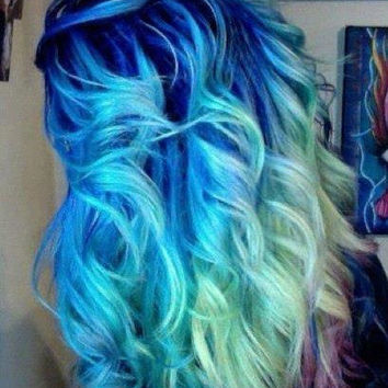 Colored Hair Chalk - Temporary Color Pastels, Pick Your Color - Hipster Fad