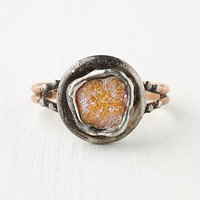 Mikal Winn Womens Trapped Crystal Cuff - Orange One