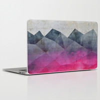 Pink Concrete Laptop & iPad Skin by Cafelab