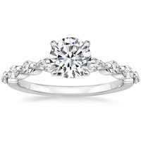 18K White Gold Versailles Diamond Ring