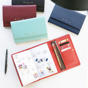 2015 Iconic Pochette undated diary scheduler with wallet