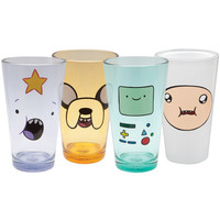 Adventure Time - Characters Four Pack Pint Set