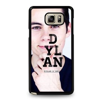 DYLAN O'BRIEN Samsung Galaxy Note 5 Case Cover