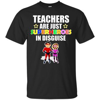 Teacher Shirt Teachers are Superheroes in Disguise T-Shirt