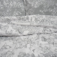 Competitive Price! Duvet cover Two Pillowcases white gray duvet cover Queen King Full size. Scandinavian fabric. Handmade High Quality