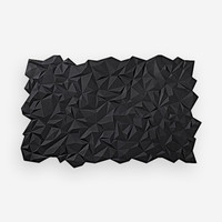 Join Facet Placemat/Table Runner Black (Set/2)