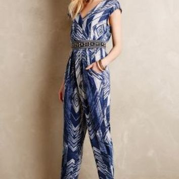 Geo Jersey Jumpsuit by Corey Lynn Calter