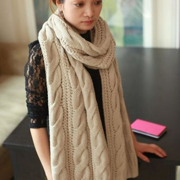 Knit Scarf. Multiple Color Options