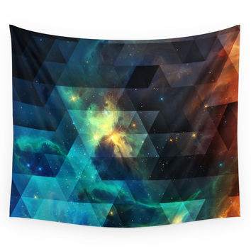 Society6 Galaxies I Wall Tapestry