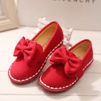 Stylish Korean Butterfly Children Princess Shoes [4919296452]