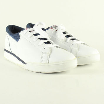 Deadstock Vintage Guess White/Navy Low Top Shoes