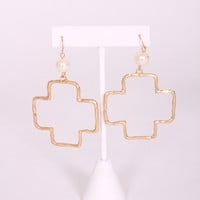 Cross Paths Earrings