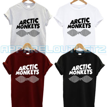 arctic monkeys soundwave t shirt swag dope tumblr facedown album tour alex turner fashion tumblr unisex fangirl band new