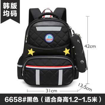 School Backpack Fashion Children School Bags For Teenagers Boys Large Capacity Orthopedic Kids Cartoon s kds Schoolbags For girls AT_48_3