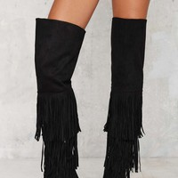 Up to There Over-the-Knee Boots