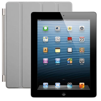 Apple 128GB iPad 4th Gen w/ Retina - Wi-Fi +4G AT&T - Black or White +SmartCover