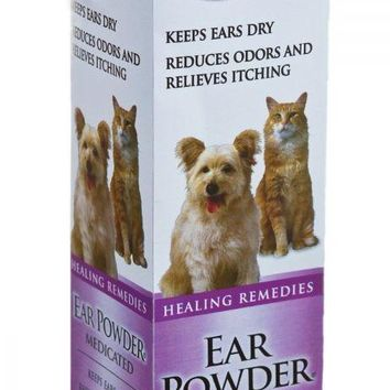 Four Paws Medicated Ear Powder for Dogs/Cats