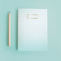Mint Ombre Notebook