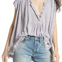 Free People Aster Henley Top | Nordstrom