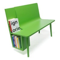 buchhalterB  seat and book rack in one