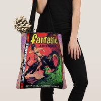 Queen of the Panther World Tote Bag