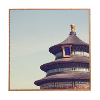 Catherine McDonald Temple Of Heaven Framed Wall Art