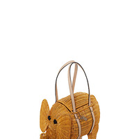 Kate Spade Strut Your Stuff Wicker Elephant Natural ONE