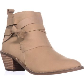 Kelsi Dagger Brooklyn Kingston Ankle Boot, Ginger, 8.5 US