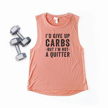 I'd Give up Carbs but I'm not a Quitter | Muscle Tank