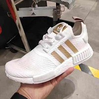 Free shipping: Adidas NMD R1 W men's and women's comfortable lightweight cushioning sports running shoes