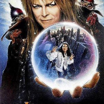 Labyrinth Mini movie poster Sign 8in x 12in