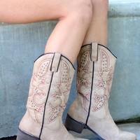 Shortie Stone Rancher Studded Boots