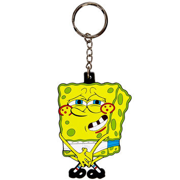 Spongebob - No Pants 3D Keychain