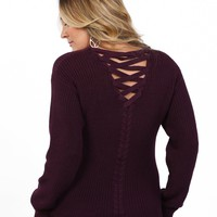 Criss Cross Back Helena Sweater