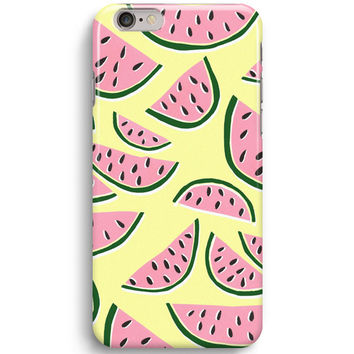 Watermelon Fruits Pattern iPhone 6 Case, iPhone 5S Case