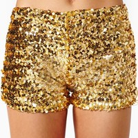 Disco Heat Sequin Shorts
