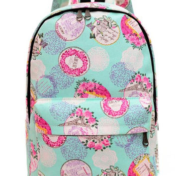 Canvas Backpack for Women, Teens and Kids